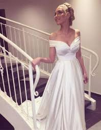 the shoulder wedding dresses slim wedding dresses at aless mode