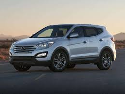 hyundai luxury suv best 4 cylinder suvs for 2016 autobytel com