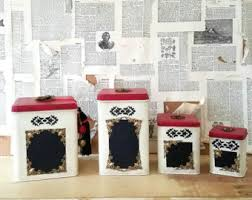 french canister set etsy