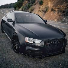 Audi R8 Matte Black - repost via instagram the black murderer rs5 4 2 fsi v8 450hp