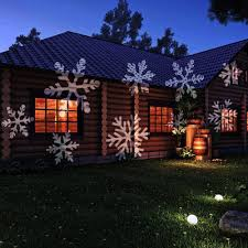 christmas projection lights podofo christmas snowflakes light sparkling landscape l led