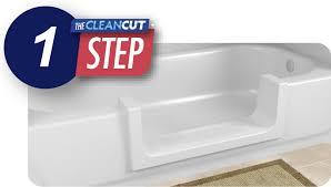 Easy Step Bathtub Home Cleancut Walk In Tubs Tub Conversion Cleancut