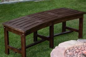 Hardwood Garden Benches Bench Ravishing Curved Wooden Garden Bench Plans Important Curved