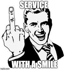 Meme Smile - 1950s middle finger meme imgflip