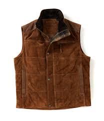 leather vest men u0027s leather coats jackets u0026 vests dillards