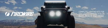 jeep lights on top firewire leds every led for every application complete led