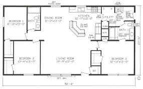 House Open Floor Plans Modular Home Open Floor Plans Webshoz Com