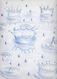 rain drops colored pencil drawings pinterest colour pencil