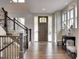 craftsman craftsman entryway with specialty door u0026 hardwood floors in edina