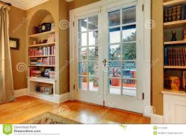 wooden glass door classic entrance hall with wooden glass doors and built in wall