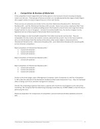 Resume For Construction Job by Retirement Community Campaign Strategy