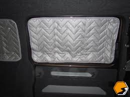 vw t5 t6 transporter o s or n s middle silver window foil thermal