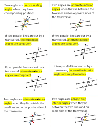 Same Side Interior Angles Definition Geometry 50 Best Angles Triangle Relationships Images On Pinterest