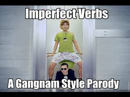 Gangnam Style Meme - imperfect verbs gangnam style parody youtube