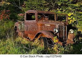 rusty pickup truck old rusty pickup truck an old rusted international pickup stock