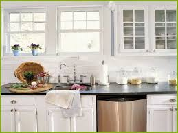 backsplash ideas for white cabinets and black countertops unique kitchen backsplash ideas with white cabinets and black