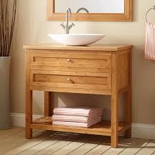 Bathroom Vanity With Trough Sink by Bathroom Bathroom Interior Furniture Brown Stained Wooden Bath