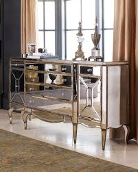 Mirrored Dining Room Table Mirrored Buffet Table Master Bedroom Pinterest Buffet