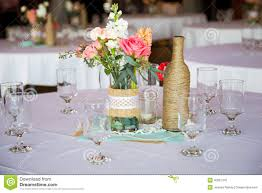 wedding reception table centerpieces wedding reception table centerpieces stock photo image 40027441