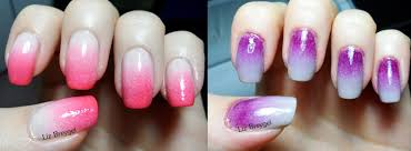 ombre nails tutorial january