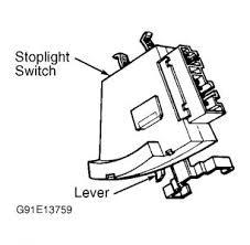gmc brake light switch replacement 1994 gmc sierra trouble with brake light switch
