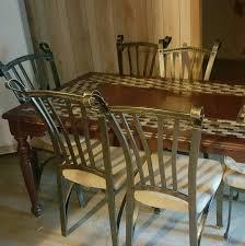 dining room chairs san antonio centerpiece granite top dining