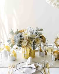 silver centerpieces glamorous wedding centerpieces martha stewart weddings
