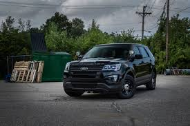 New Interior Appearance Ford Is Giving Its Police Interceptor Suv A U0027stealth Appearance