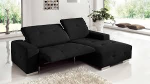 sofa mit elektrischer relaxfunktion francisco sofa schwarz elektrischer relaxfunktion