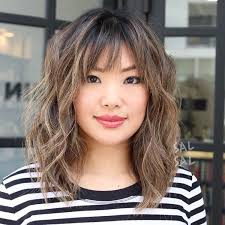 short hairstyles with center part and bangs 50 ways to wear short hair with bangs for a fresh new look