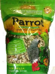 sweet harvest parrot bird seed food with sunflower