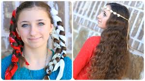 how to curl your hair fast with a wand bandana curls no heat curl hairstyles cute girls hairstyles