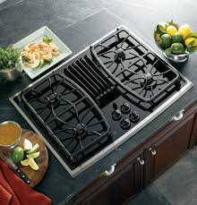 Gas Countertop Range Kitchen Cooktops Ge Profile Series 30