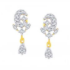 gold earrings online buy gold earring online in india desin gitanjali jewels