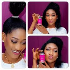 naigerian actresses hairstyles ladies only oge okoye shares her hair beauty secret royalimpression