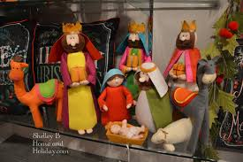 plush nativity figures raz imports at shelley b home and holiday