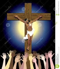 jesus cross crowd royalty free stock images image 30140479