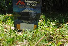 pack mountain house freeze dried food to lighten the camping backpack
