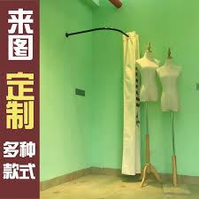 Fitting Room Curtains Usd 17 39 Clothing Store Fitting Room Curtain Display Rack L