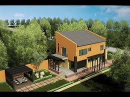 modern house plans with pictures for narrow lot house ca05 youtube