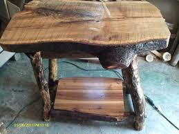 handmade kitchen island handmade rustic log furniture oak log kitchen island