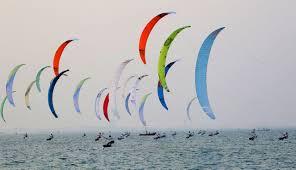 press conference of 2017 kite foil world champioship in cagliari