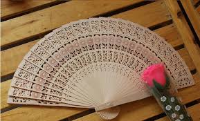 wholesale fans 2017 new wooden fans portable wedding handmade folding