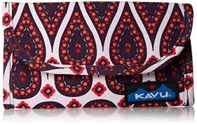 kavu women u0027s big spender wallet paisley passion one size