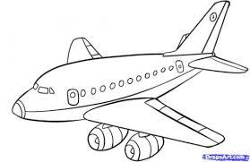 cartoon plane drawing img need clip art library