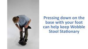 wobble stool how to remove the seat on uncaged ergonomics u0027 active