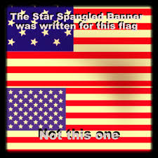 Flag Day Songs History U S National Song Was Written For A Different Flag Not