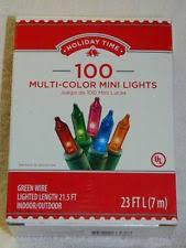 Glass Indoor Outdoor Christmas Lights Ebay