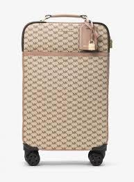 koffer design damen michael kors großer koffer mit heritage design und logo