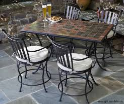 Plantation Patterns Patio Furniture Cushions Top Plantation Patterns Iron Patio Garden Table And Chairs Daisy